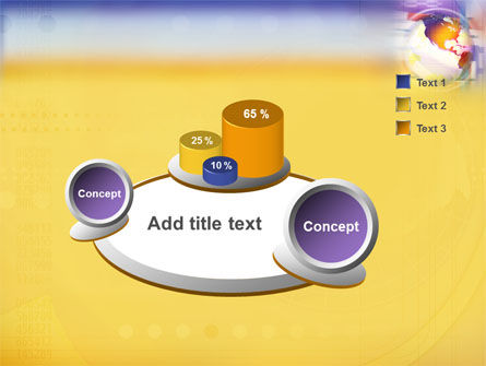 Info Sphere PowerPoint Template Slide 6