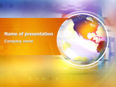Global: Info Sphere PowerPoint Template #03227