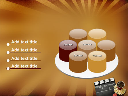 Films and Cinema PowerPoint Template Slide 12