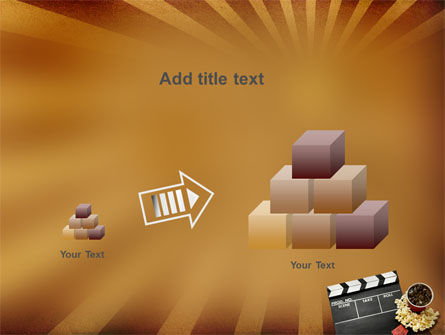 Films and Cinema PowerPoint Template Slide 13