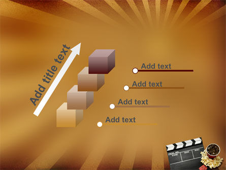 Films and Cinema PowerPoint Template Slide 14
