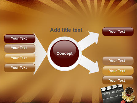 Films and Cinema PowerPoint Template Slide 15