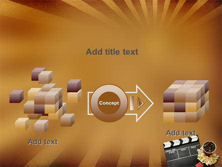 Films and Cinema PowerPoint Template Slide 17