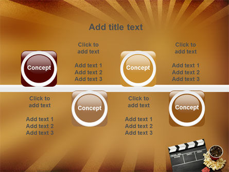 Films and Cinema PowerPoint Template Slide 18
