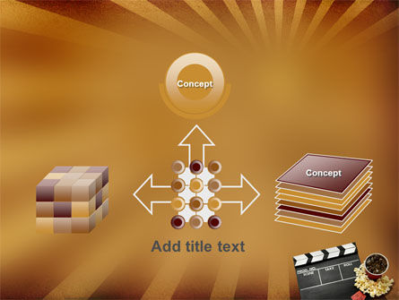 Films and Cinema PowerPoint Template Slide 19