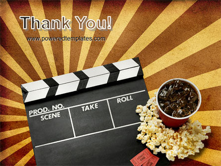 Films and Cinema PowerPoint Template Slide 20