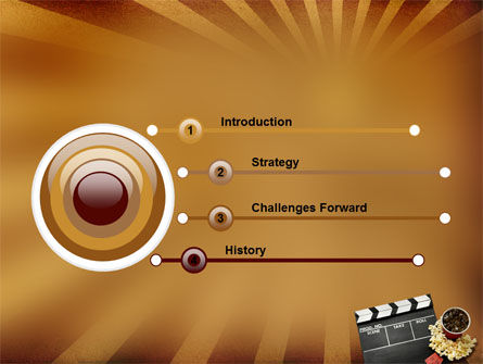 Films and Cinema PowerPoint Template Slide 3