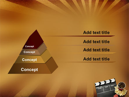 Films and Cinema PowerPoint Template Slide 4