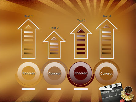Films and Cinema PowerPoint Template Slide 7