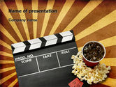 Art & Entertainment: Films and Cinema PowerPoint Template #03230