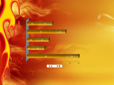 Fire Flame PowerPoint Template Slide 11