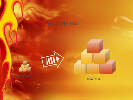 Fire Flame PowerPoint Template Slide 13