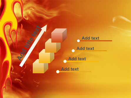 Fire Flame PowerPoint Template Slide 14
