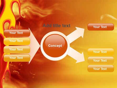 Fire Flame PowerPoint Template Slide 15