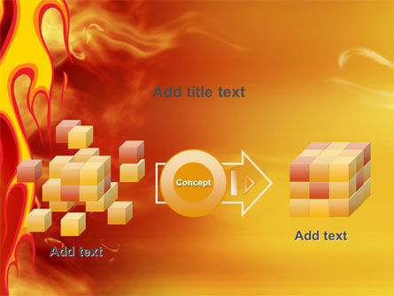 Fire Flame PowerPoint Template Slide 17