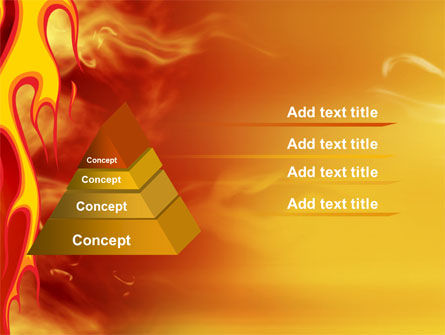 Fire Flame PowerPoint Template Slide 4