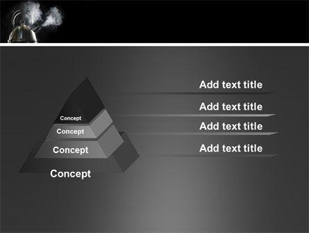 Boiling Kettle PowerPoint Template Slide 12