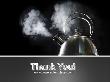 Boiling Kettle PowerPoint Template Slide 20