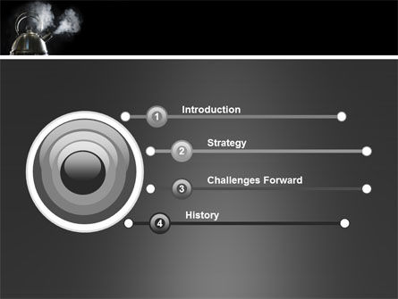 Boiling Kettle PowerPoint Template Slide 3