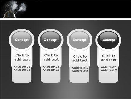 Boiling Kettle PowerPoint Template Slide 5