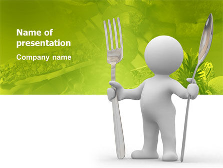 Careers/Industry: Meal PowerPoint Template #03236