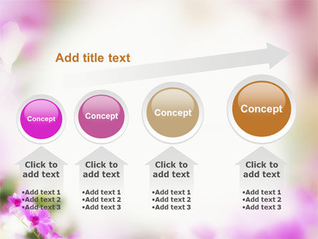 Blooming Flowers PowerPoint Template Slide 13