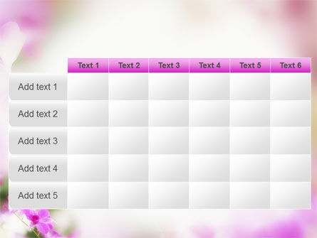 Blooming Flowers PowerPoint Template Slide 15