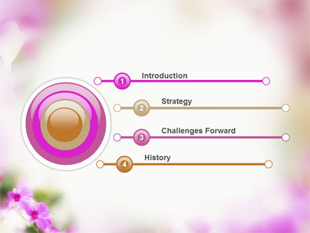Blooming Flowers PowerPoint Template Slide 3