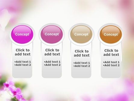 Blooming Flowers PowerPoint Template Slide 5