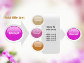 Blooming Flowers PowerPoint Template#17