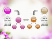 Blooming Flowers PowerPoint Template#19
