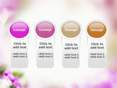 Blooming Flowers PowerPoint Template#5