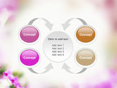 Blooming Flowers PowerPoint Template#6