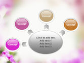 Blooming Flowers PowerPoint Template#7