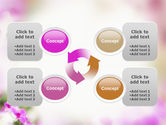 Blooming Flowers PowerPoint Template#9