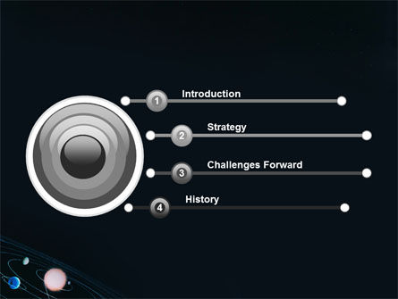 Solar System PowerPoint Template Slide 3