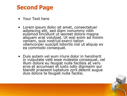 Internet Point PowerPoint Template, Slide 2, 03244, Technology and Science — PoweredTemplate.com