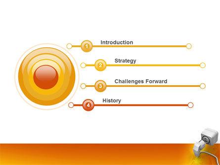 Internet Point PowerPoint Template Slide 3