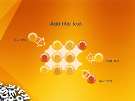 Letters PowerPoint Template Slide 10