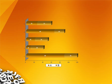 Letters PowerPoint Template Slide 11