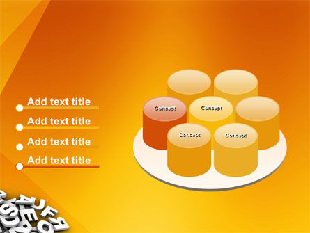 Letters PowerPoint Template Slide 12