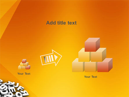 Letters PowerPoint Template Slide 13