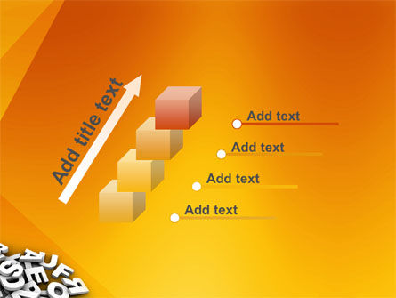 Letters PowerPoint Template Slide 14