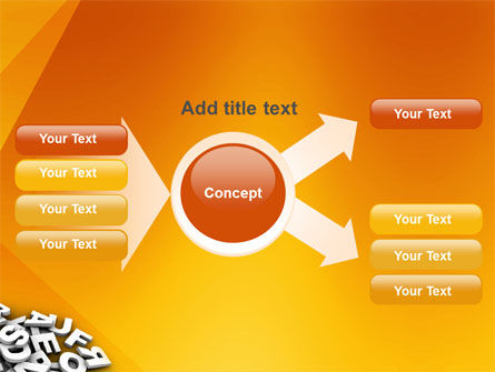 Letters PowerPoint Template Slide 15