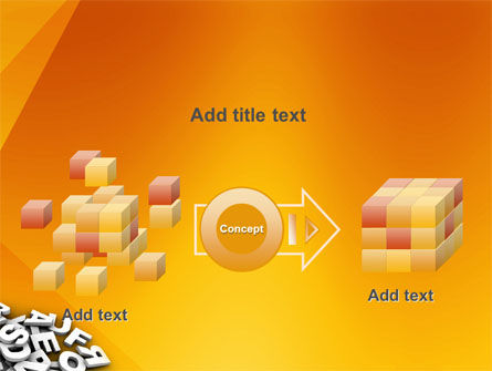 Letters PowerPoint Template Slide 17