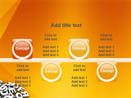Letters PowerPoint Template Slide 18