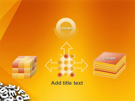 Letters PowerPoint Template Slide 19
