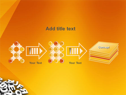 Letters PowerPoint Template Slide 9