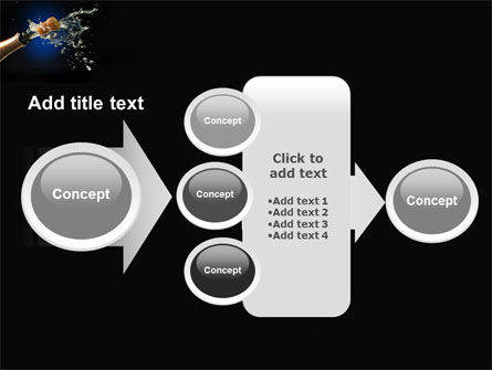 Champagne PowerPoint Template Slide 17