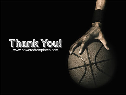 Basketball Player PowerPoint Template Slide 20